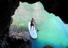SUP Tour of the Caves and Cliffs near Sagres