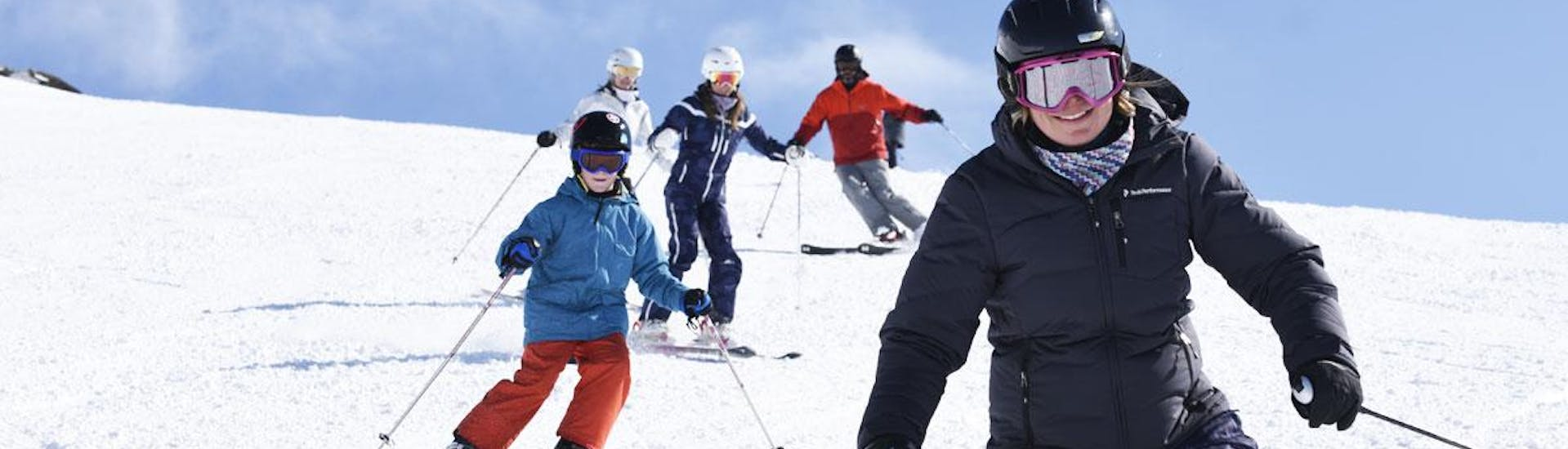 Ski Lessons for Kids (6-10 years) - All Levels