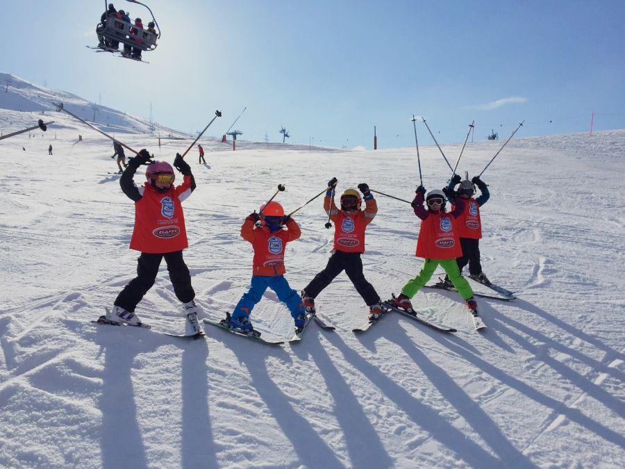 Cours de Ski Enfants (4-17 a.) - Équip. incl. - Tous Niveaux