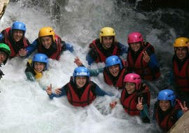 Canyoning facile a Château d'Oex - La Tine Canyon