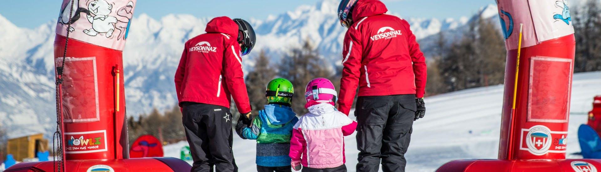Curso de esquí para niños para todos los niveles