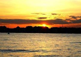 Boottocht van Valencia met zonsondergang