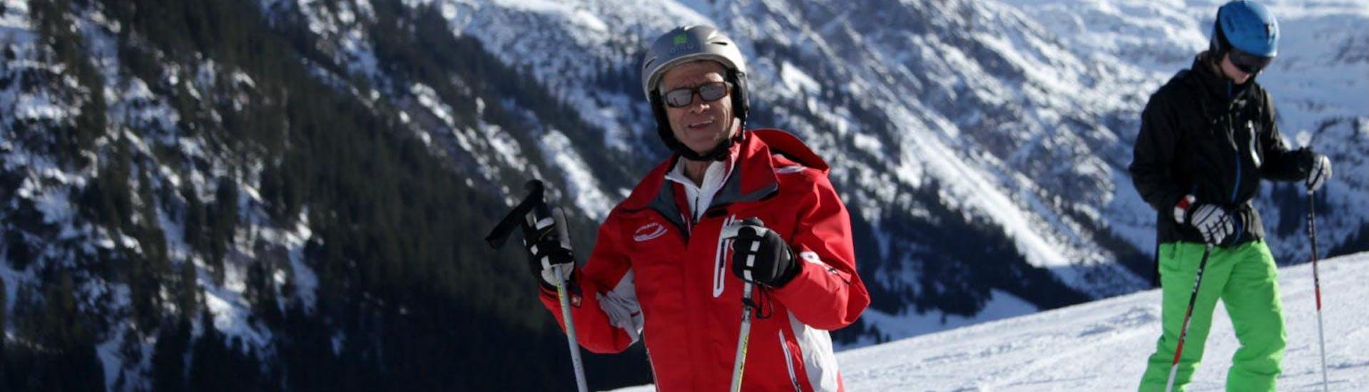 Curso de esquí para adultos para avanzados