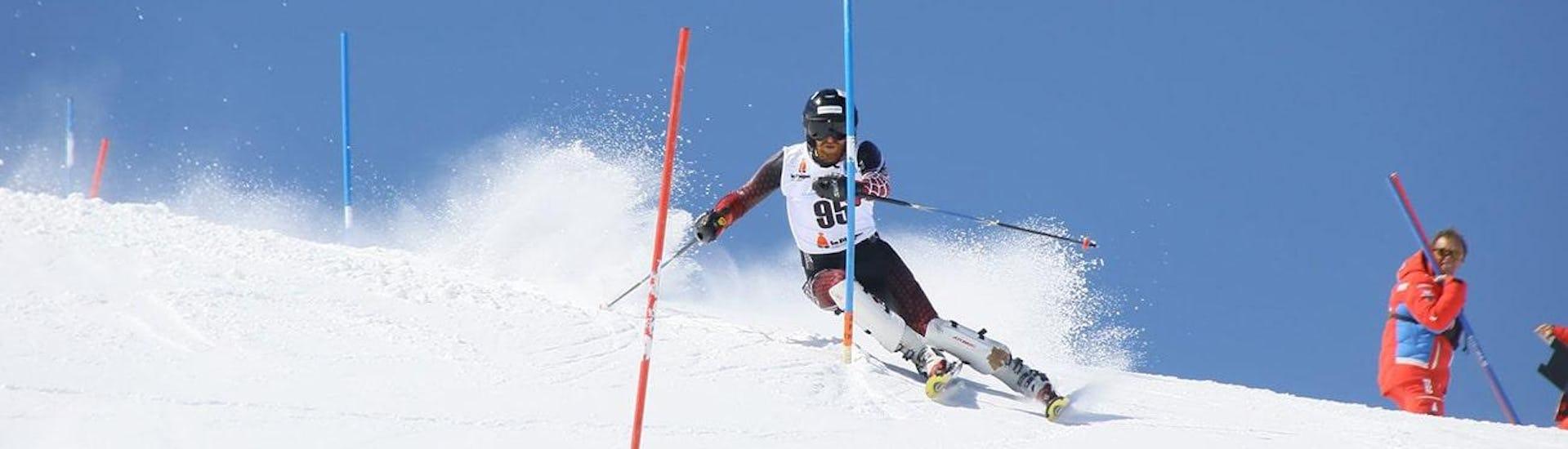 Slalom Ski Lessons Teens and Adults - Advanced