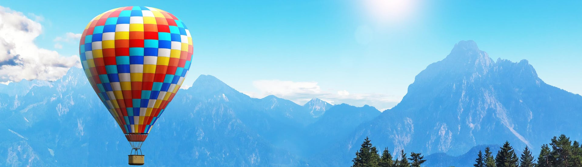 A hot air balloon ride over the ballooning hotspot of Bavaria.