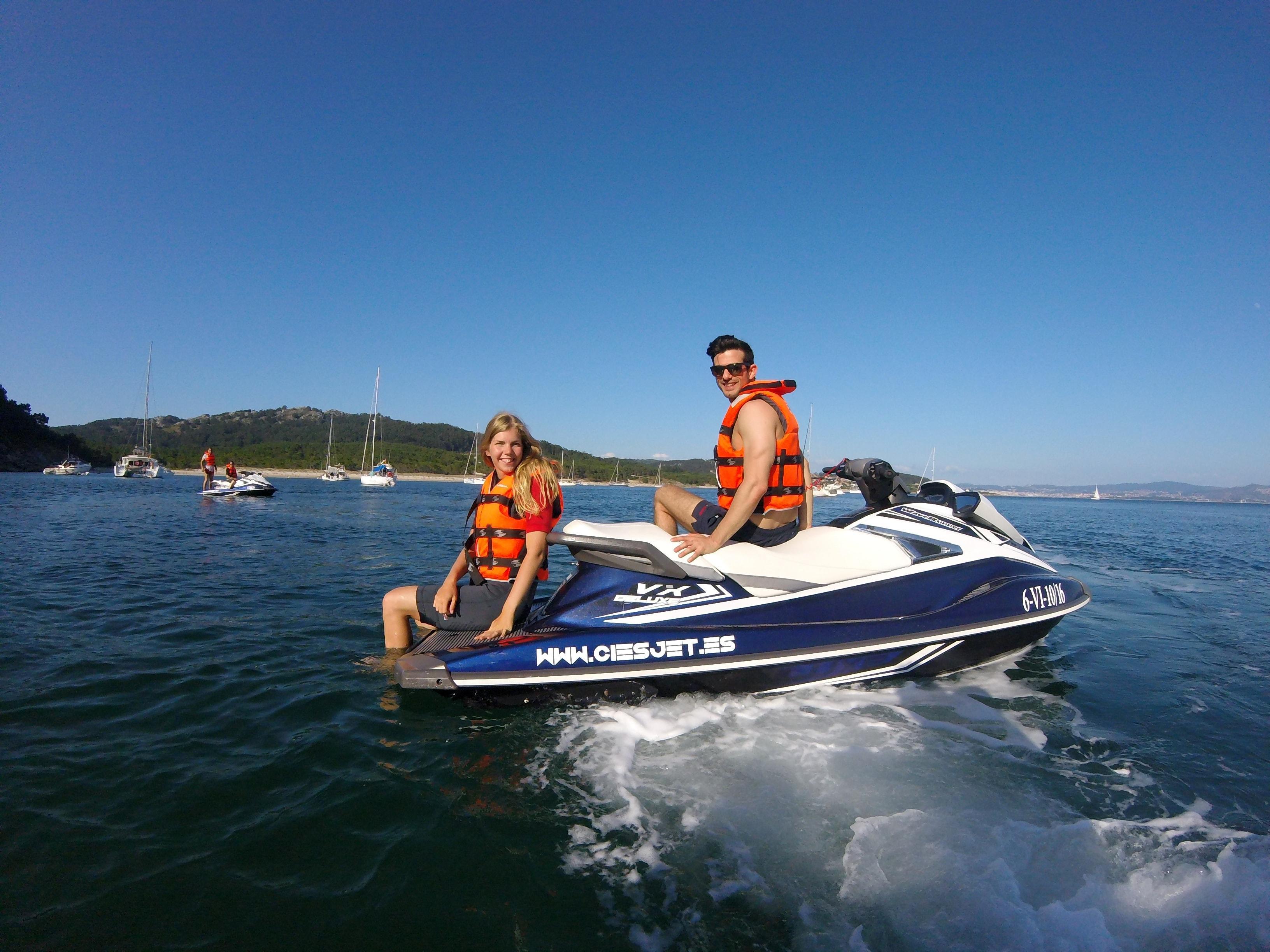"""Jet Ski Tour """"Playa de Barra Beach"""" - Vigo"""