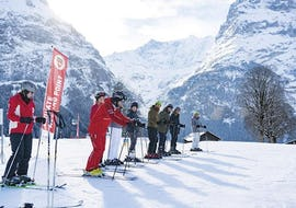 Kids Ski Lessons (6-15 y.) - Intermediate
