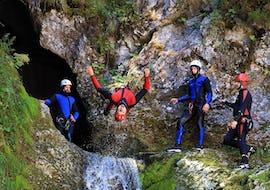 Bestes Canyoning in Bled in der Grmečica Schlucht