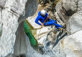 Canyoning in the Boggera Canyon in Ticino from Cresciano with Ticino Adventures