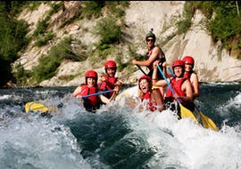 White-Water Rafting on the Sava River