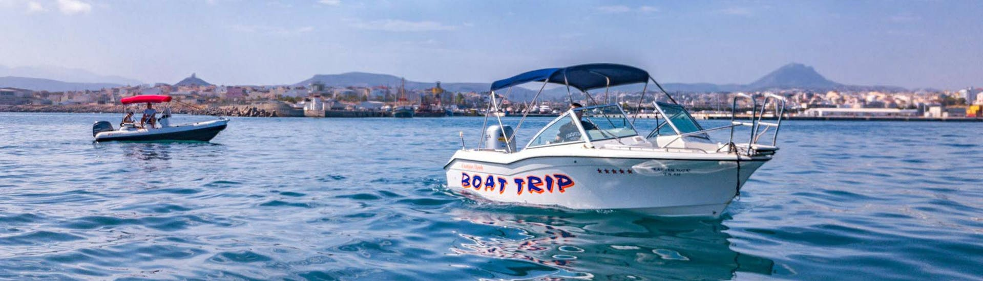 Private Boat Trip 'Snorkeling and Fishing' from Heraklion