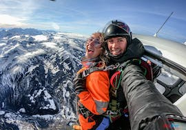 Tandem Helicopter Skydive from 4000m - Interlaken