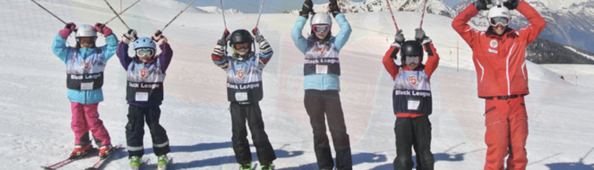 Skiing Lessons for Kids (5-12 years) Tracouet