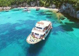Balade en bateau vers le Blue Lagoon depuis Lefkimmi avec Corfu Cruises