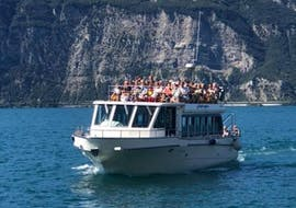 The boat transfer from Malcesine to Limone with Garda Express.