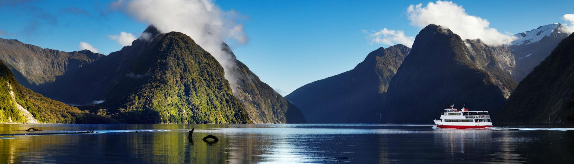 A boat trip in Milford Sound is one of the highlights of many holiday-makers' visit to New Zealand.