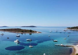 View during the Boat Trip to Kornati archipelago & Telašćica Nature Park with Toto Travel.