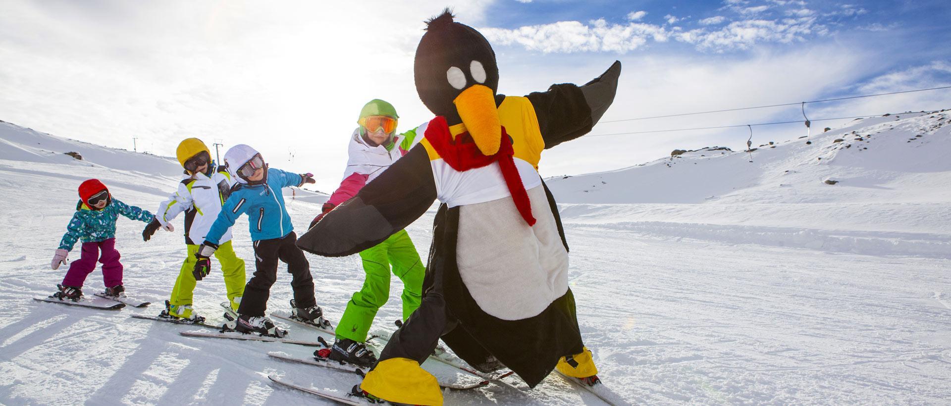 Cours de ski Enfants dès 5 ans pour Débutants