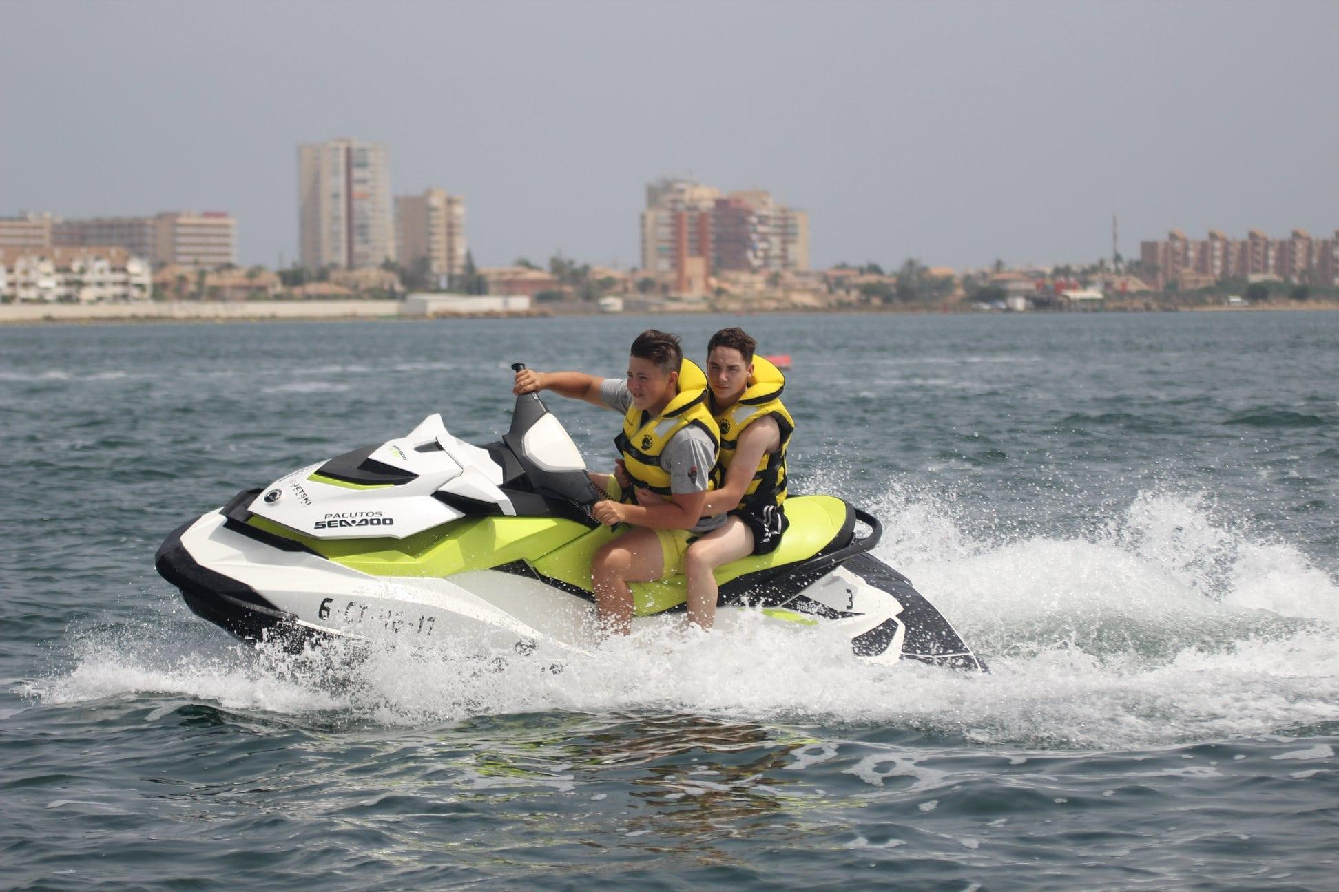 Jetskiën in La Manga del Mar Menor - Mar Menor