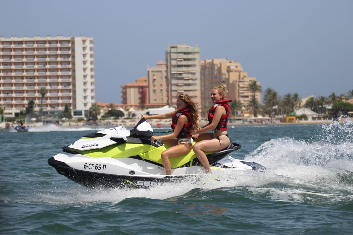 Jetskiën in La Manga del Mar Menor - Isla Grosa