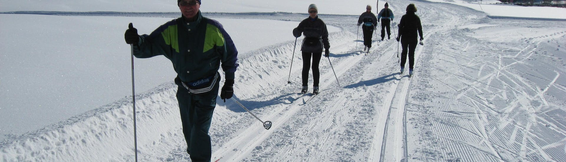 Private Cross Country Skiing Lessons for All Levels with Ski & Snowboard School Ostrachtal - Hero image