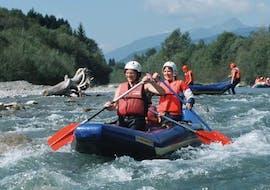 Kanu Rafting auf der Gail