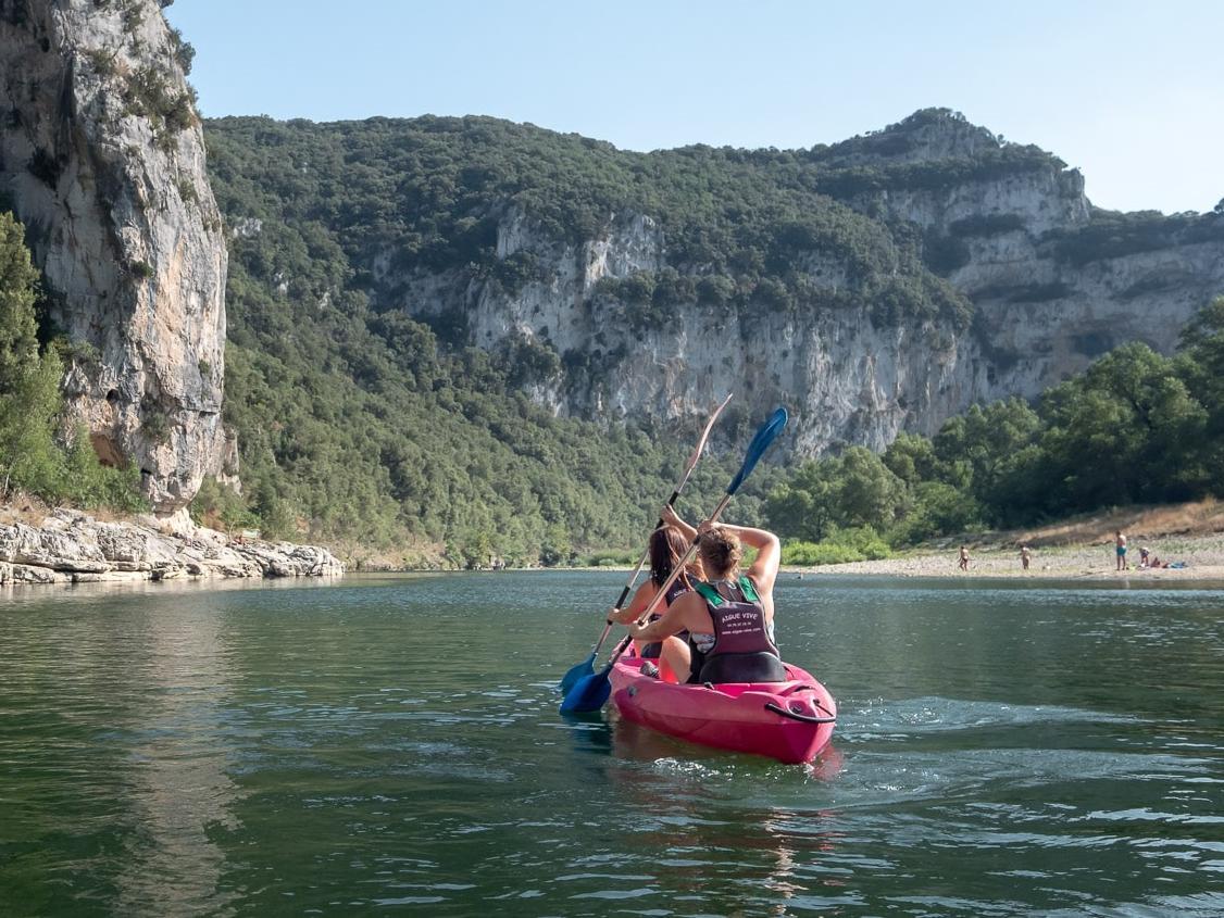 Kano verhuur in de Ardèche - Hart van de Canyon - 24km