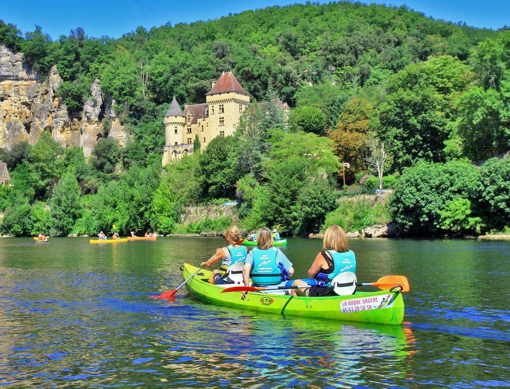 25 km kanoverhuur op de Dordogne - Volledige route