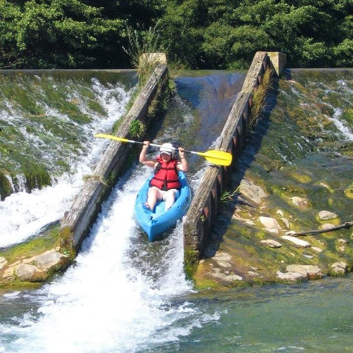 Eenvoudige Kanoën in Mostuéjouls - Tarn River