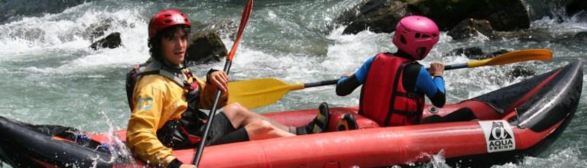Canoe on the River - Sarine