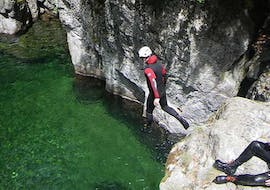 Canyoning in Canyon Aéro Besorgues - Classic