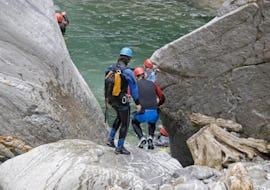 Canyoning in Val Cresciano Boggera - Klassik