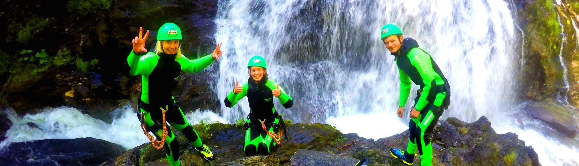 Canyoning for Beginners in the Alpenrosenklamm - Apache Tour
