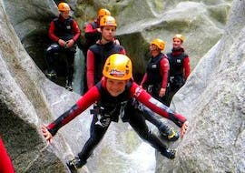 Canyoning for Sporty Families in the Zemm Gorge