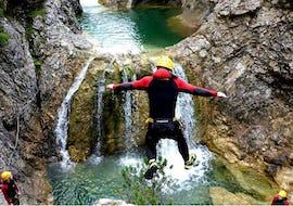 Canyoning in den Stuibenfällen für Einsteiger