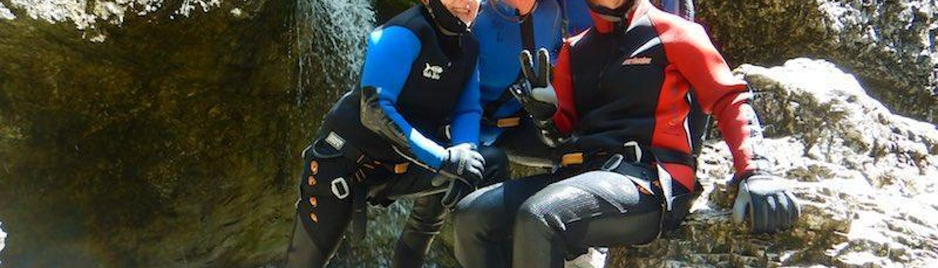 Canyoning in the Almbachklamm - Fun Tour