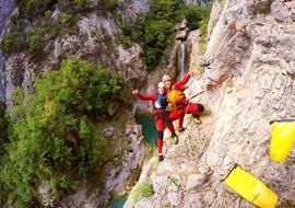 Canyoning in der Cetina - Fortgeschrittene Tour