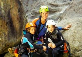 Canyoning in the Chalamy for Families
