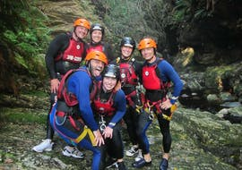 "Canyoning in The Crags - Standard ""Full Monty"" Tour"