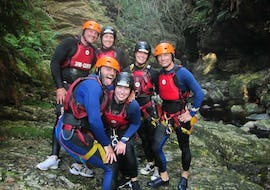 """Canyoning in The Crags - Standard """"Full Monty"""" Tour"""