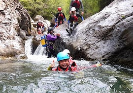 Canyoning in the Palvico - Baby Tour