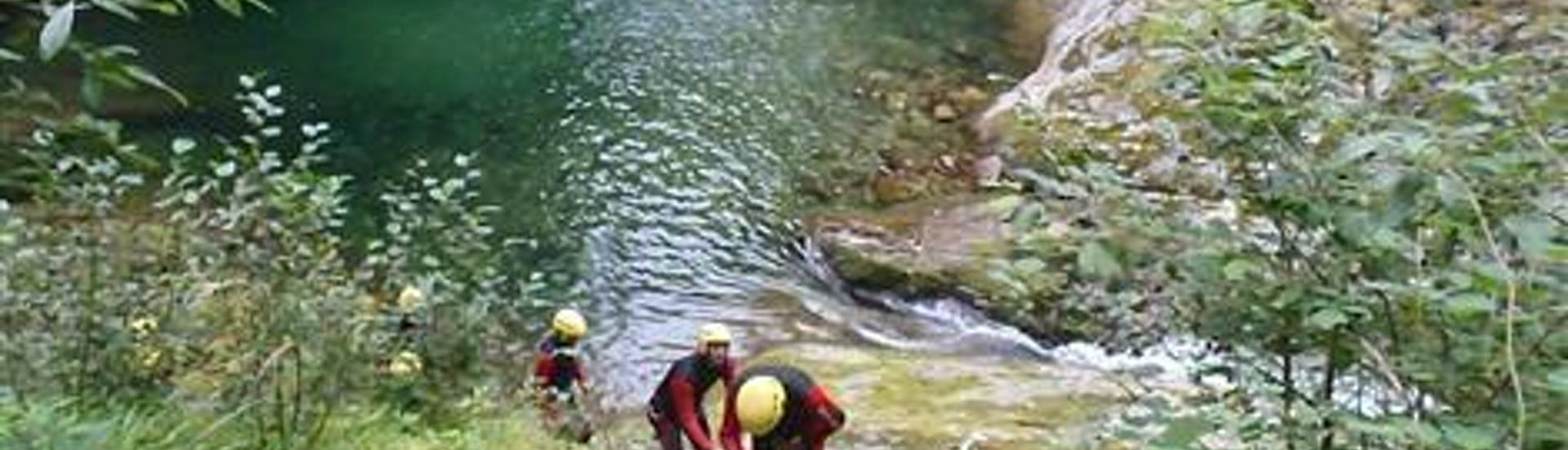 Canyoning in the Rio Laghetto
