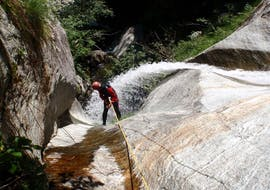 Canyoning in the Sorba
