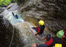 Canyoning facile à Kobarid - Sušec avec Soča Flow Kobarid