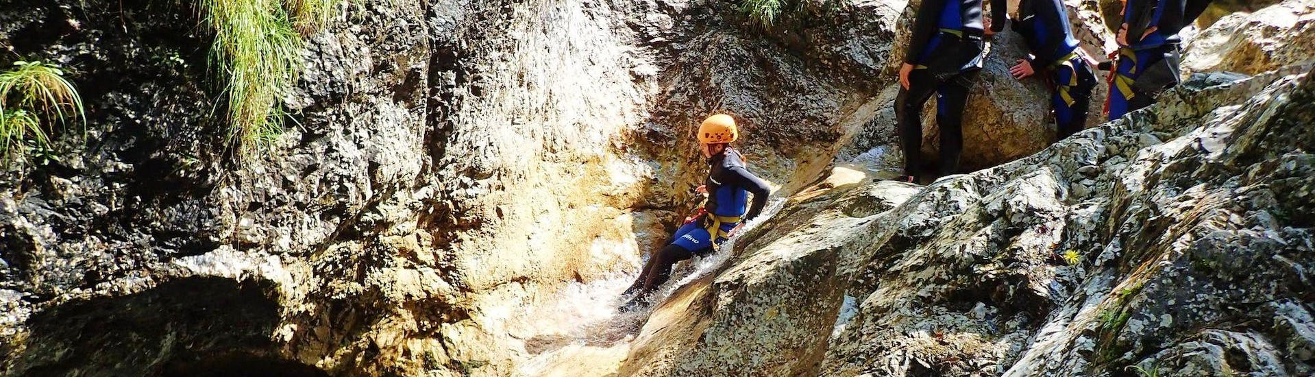 Canyoning in the Sušec Gorge