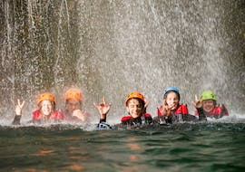 First Canyoning Experience in the Rio Nero from Arco