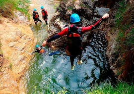 Classic Canyoning in the Lentegí River, Granada with Gualay Aventura Andalucía