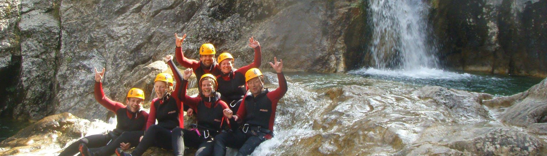 Canyoning facile à Reutte - Stuibenfälle avec White Mountain - Hero image