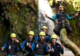 Canyoning in the Barranco del Genilla near Priego de Córdoba