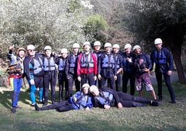 Easy Canyoning in Forra di Rocca Gelli